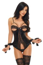 Beauty Night corset Shaquila - Zwart