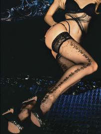 Studio Collants vrouwelijke hold-up kousen zwart