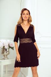 Eldar Bianca - sexy slipdress- zwart