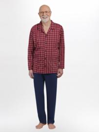Martel- Antoni- pyjama- rood- 100% katoen