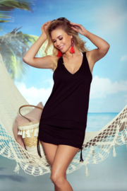 Eldar Sunny-  dames  strandtuniek -zwart