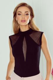 Eldar- Chanel- top- zwart