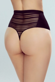 Eldar Vektra Taillevormer hoge string- zwart