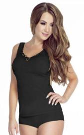 Mewa- Olimpia- dames hemd- zwart