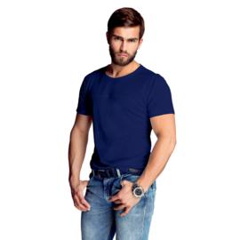 Mewa- T-shirt- James- vegan zijde- donkerblauw