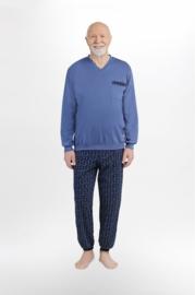 Martel  Karol - pyjama blauw-100% katoen