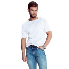 Mewa- T-shirt- Sprint- vegan zijde- wit