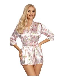 Donna - Donatella- Satijnen Kimono- roze