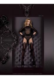 Studio Collants  panty - zwart/grijs  20/50 den