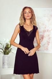 Eldar Nancy mooie slipdress met kant- Zwart