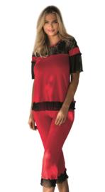 DKaren Manuela mooie pyjama rood