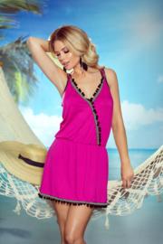 Eldar Jessica dames jurk strandtuniek roze