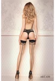 Studio Collants hold-up kousen met sexy naad 20 den