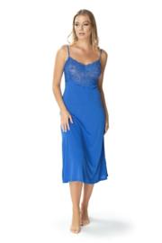Mewa mooie nachtjurkie - Flamenco- blauw