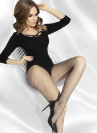 Annes Shakira verleidelijk visnet pantys zwart