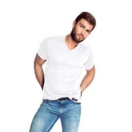 Mewa- T-shirt- Caro- vegan zijde- wit
