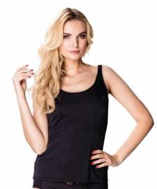Mewa- Karla - dames hemd- zwart