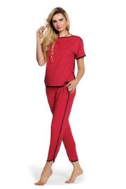 DeLafense Judith pyjamaset rood