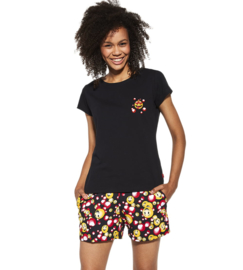 Cornette- dames pyjama Funny- 100% katoen
