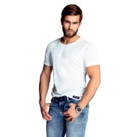 Mewa- T-shirt- James- vegan zijde- wit