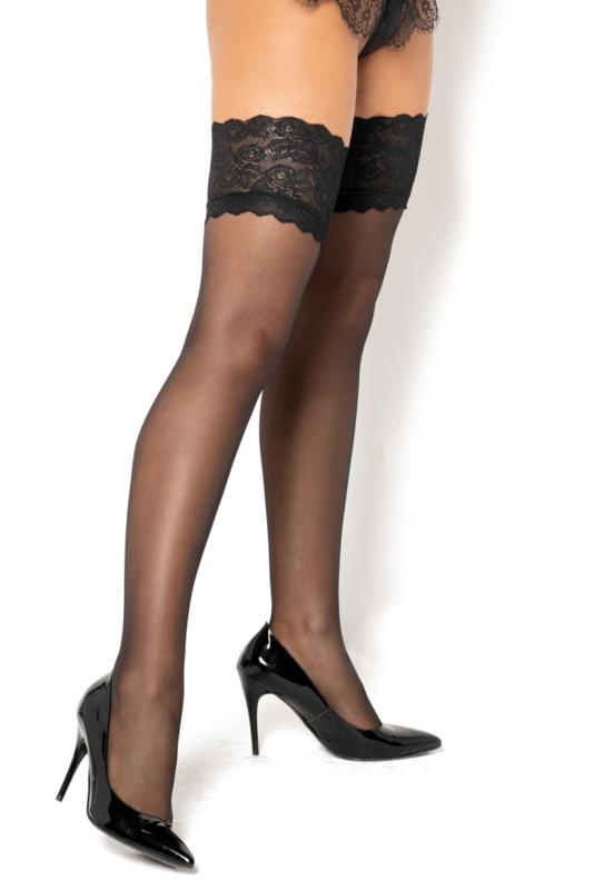 Beauty Night Catherine sexy hold-up kousen- zwart - 20 den
