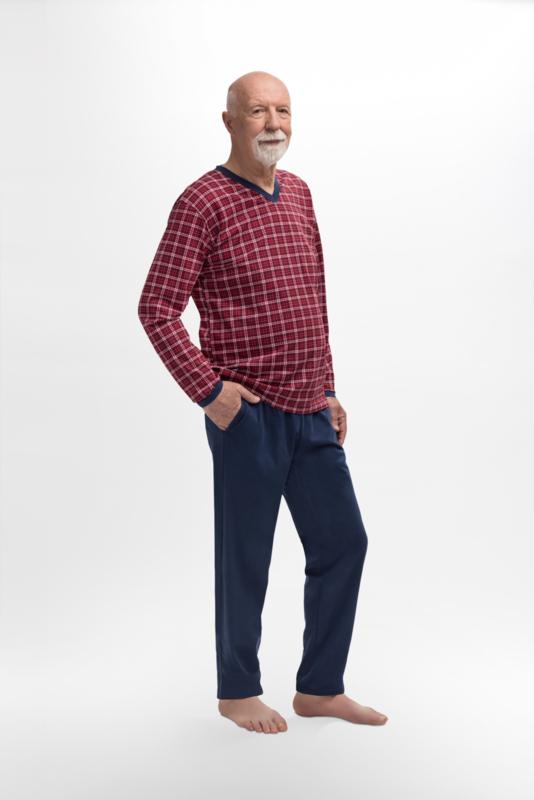 Martel  Roman - pyjama rood-100% katoen