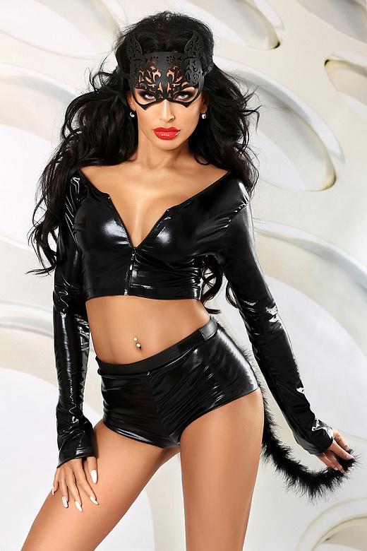 Lolitta Cat Kostuum-zwart