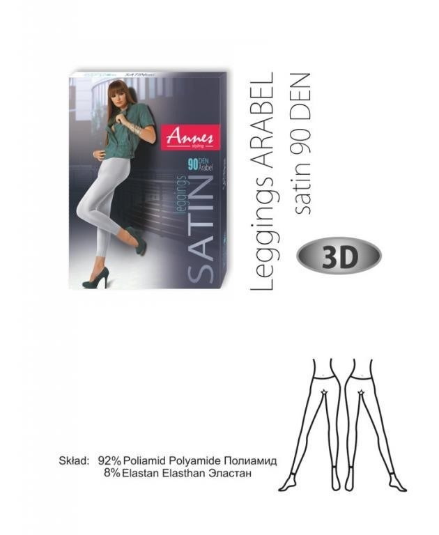 Annes Arabel Push Up Leggings - natural- 90 den