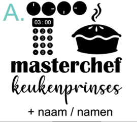 Kinder keuken stickers