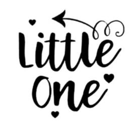 'Little one' Strijkapplicatie
