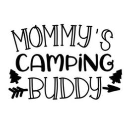 'Mommy's camping buddy' Strijkapplicatie