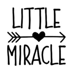 'Little miracle' Strijkapplicatie