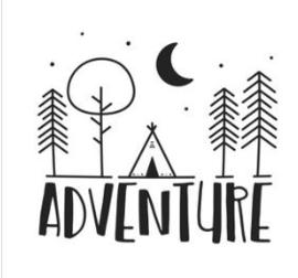 'Adventure' Strijkapplicatie