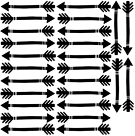 muurstickers Pijlen