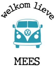 Volkswagen raamsticker