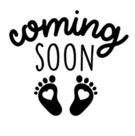 'Coming soon' Strijkapplicatie