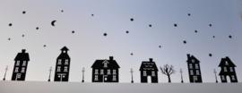Herbruikbare raamstickers huisjes (+ uitbreidingen)