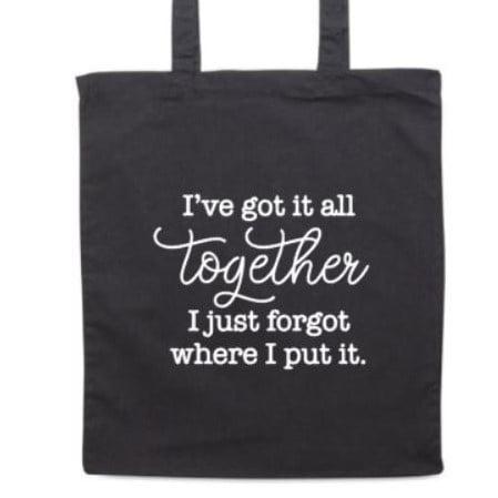 Tas 'I've got it all together'