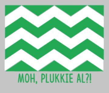 (auto)sticker Westlandse vlag  Plukkie al?!