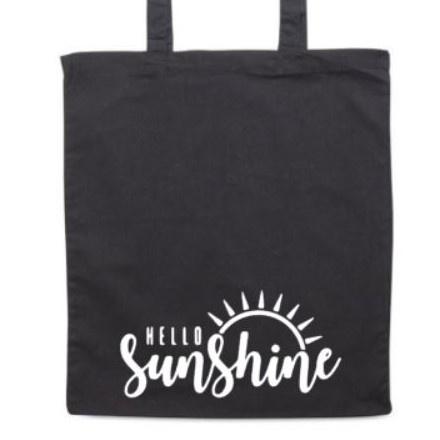 Tas 'Hello sunshine'