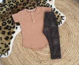 Shirt - Camel rib