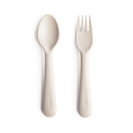 Mushie - fork & spoon