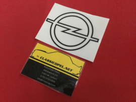 "Sticker ""Opel logo"" voor de achterklep Opel Kadett C2 GT/E."