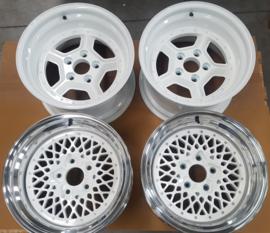 Rothmans set velgen 16 inch, 2x9J en 2x10J, ET-12, Steek 5x120