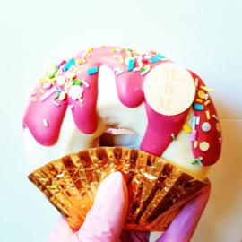 Drip down donut