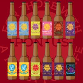 Herontdek PONTUS Brewing  (12 flessen)