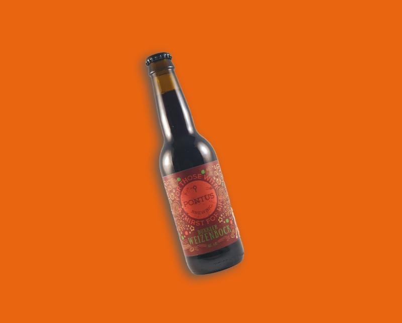 Pontus Brewing - Dunkler Weizenbock   Weizenbock 6,8% (vanaf 6 flessen)