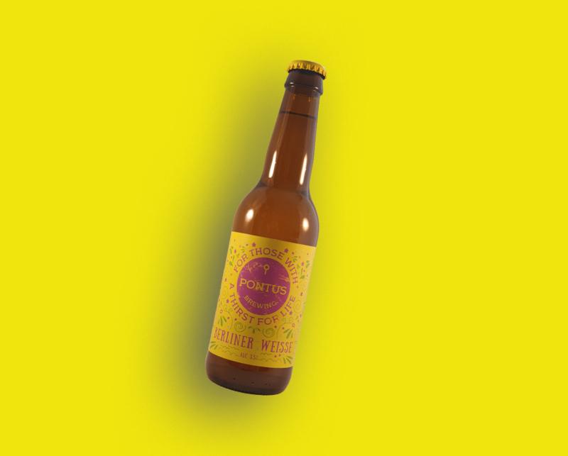 Pontus Brewing - Berliner Weisse | Berliner Weisse 3,5% (vanaf 6 flessen)