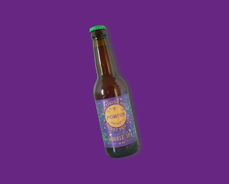 Pontus Brewing - Gigantic Sailor | Double IPA 8% (vanaf 6 flessen)
