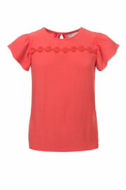 LOOXS LITTLE - BLOUSE CORAL